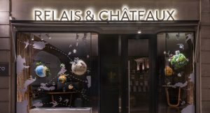 Soline d'Aboville, scenographer, april 2019, Creating Delicious Journey, Relais & Châteaux store, Paris.
