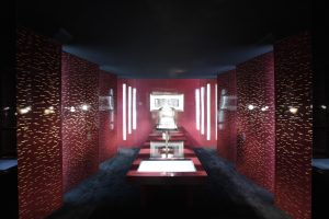 """Soline d'Aboville, scenographer, 2012-2013, Touring exhibition """"Creation and Expertise"""", Chanel. Exhibition dedicated to the presentation of the Haute Joaillerie collections of the House of Chanel."""