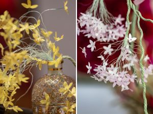 From September 19 to October 29, 2020, William Amor exhibition in the Guerlain boutique, space -1, 68 Avenue des Champs Elysées, 75008 Paris. Details: flowered ropes