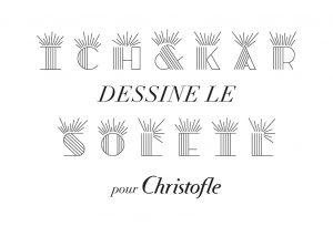 Le directeur artistique de l'orfèvre Christofle commande à Ich&Kar une série de lettres à graver pour orner les timbales de naissance. L'idée est de renouveler le genre de la lettrine gravée, de réinventer la timbale naissance.
