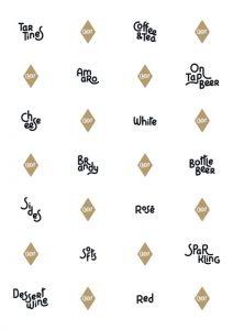 Identité visuelle du restaurant Cadet à Santa Monica en Californie.</p><p>Une typographie dessinée sur mesure, inspirée des carnets de cartes postales d'antan.</p>