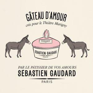 Décembre 2018 : Ich & Kar pour le pâtissier Sebastien Gaudard : un soupçon d'humour pour le pâtissier de vos amours !