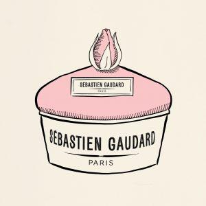 Décembre 2018 : le gâteau d'amour du pâtissier Sebastien Gaudard dessiné par Ich & Kar.