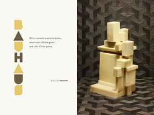 Et pourquoi ces sculptures alimentaires ne s'introduiraient-elles pas entre la poire et le dessert ?  <p>Photographies : ©Jean-Jacques Pallot</p>