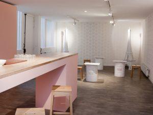 Scénographie et Communication de l'Exposition » Yahourt Bar » – Milk Factory