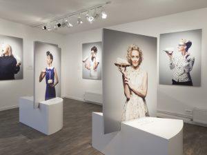 Scénographie et Communication de l'exposition » Les Filles à fromages » – Milk Factory