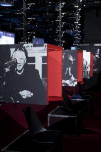 Scénographie et Graphisme de l'exposition » Musique et Cinéma » – Cité de la Musique, Paris
