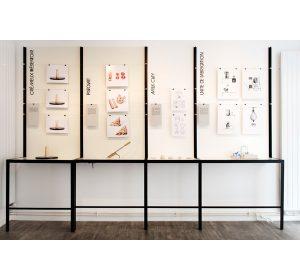 Un laboratoire moderne, graphique et utopique où chaque projet rayonne.