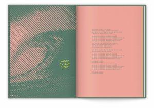 Ich&Kar, novembre 2019, le livre disque collector Vanessa Paradis Best Of & Variations. La typographie est une réinterprétation moderne, ajourée et pure d'un caractère classique du 17ème siècle, la bodebeck, dessinée par le typographe éponyme.