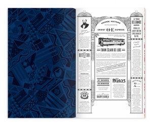 Ich&Kar, novembre 2018, branding patrimonial pour l'Orient Express. L'Orient Express a choisi Ich&Kar pour imaginer et concevoir l'univers visuel de ses futurs événements à bord.