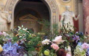 Marianne Guedin, scénographie végétale, septembre 2019, Kamel Mennour & Galerie Kréo, Beaux-Arts de Paris