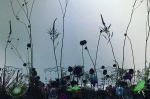 Marianne Guedin, scénographie végétale, octobre 2020, Cartier, Shanghai