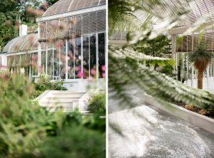 La maison Hennessy a sollicité Mathilde Jonquière pour la création d'un sol en mosaïque de marbre vert dans le jardin d'hiver du château de Bagnolet.