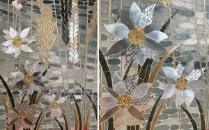 Mathilde Jonquière, artiste mosaïste, projet en cours