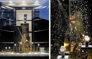 Automne 2015 – VACHERON CONSTANTIN – Crafting Eternity – Décor des vitrines du réseau suisse.