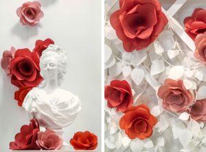 Novembre 2018 – POP-UP STORE – CAROLE G. A l'occasion du rendez-vous professionnel Equip'Hotel au Parc des Expositions de Paris, Soline d'Aboville a réalisé la scénographie du stand Carole G, surprenant par sa fraîcheur et ses couleurs.